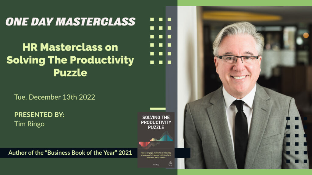 HR Masterclass on Solving the Productivity Puzzle
